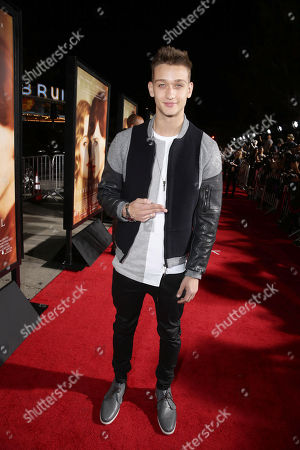 Cody Saintgnue seen at Focus Features Los Angeles premiere of 'The Danish Girl' at Regency Village Theatre, in Los Angeles, CA
