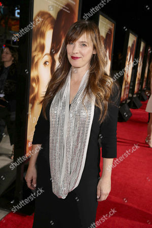 Stock Picture of Writer Lucinda Coxon seen at Focus Features Los Angeles premiere of 'The Danish Girl' at Regency Village Theatre, in Los Angeles, CA