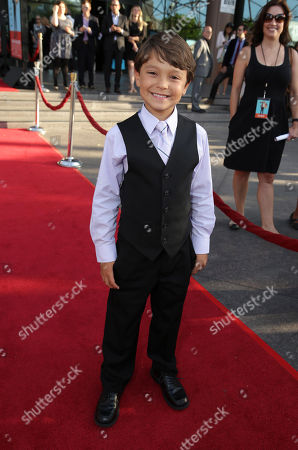 Pierce Gagnon seen at Focus Features Presents the Los Angeles Premiere of 'Wish I Was Here', in Los Angeles