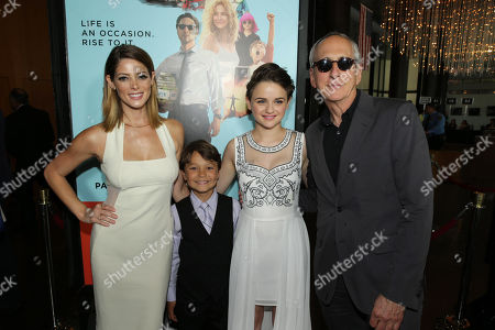Ashley Greene, Pierce Gagnon, Joey King and Producer Michael Shamberg seen at Focus Features Presents the Los Angeles Premiere of 'Wish I Was Here', in Los Angeles