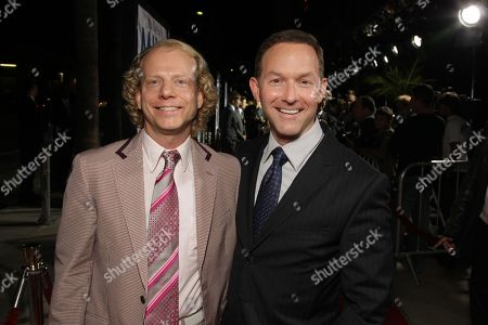 NOVEMBER 13: Producer Bruce Cohen and Producer Dan Jinks at Focus Features' Los Angeles Premiere of 'MILK' on at Academy of Motion Pictures Arts and Sciences in Beverly Hills, CA