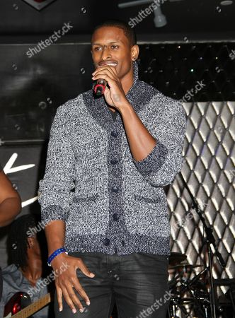 Stock Image of J Rome performs at For the Love of R&B - A Tribute to Whitney Houston at Tru Hollywood, in Los Angeles