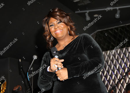 Kim Burrell performs during For the Love of R&B - A Tribute to Whitney Houston at Tru Hollywood, in Los Angeles