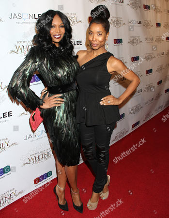 Stock Image of Marlo Hampton, left, and Kita Williams attend For the Love of R&B - A Tribute to Whitney Houston at Tru Hollywood, in Los Angeles