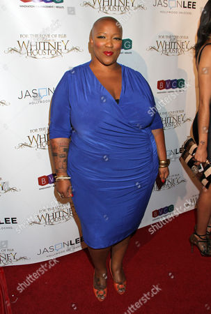 Frenchie Davis attends For the Love of R&B - A Tribute to Whitney Houston at Tru Hollywood, in Los Angeles