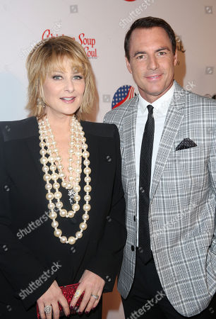 Stock Picture of Cristina Ferrare, left, and Mark Steines attend the American Humane Association's 4th Annual Hero Dog Awards at the Beverly Hilton Hotel, in Beverly Hills, Calif