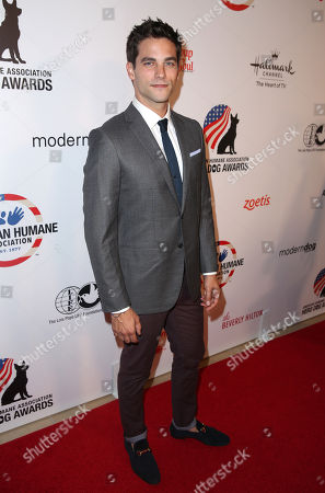 Brant Daugherty attends the American Humane Associationâ?™s 4th Annual â?oeHero Dog Awardsâ?? at the Beverly Hilton Hotel, in Beverly Hills, Calif