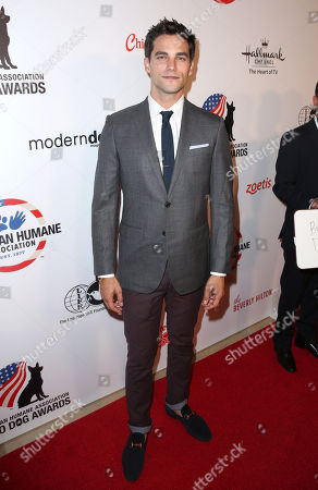 """Brant Daugherty attends the American Humane Association's 4th Annual """"Hero Dog Awards"""" at the Beverly Hilton Hotel, in Beverly Hills, Calif"""