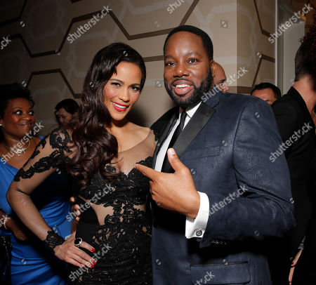 """Paula Patton and Director/Producer David Talbert attend Fox Searchlight's Los Angeles Premiere of """"Baggage Claim"""", on in Los Angeles"""