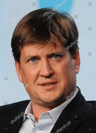 "Executive producer Bill Lawrence participates in FOX's ""Surviving Jack"" panel at the FOX Winter TCA Press Tour, on at the Langham Huntington, in Pasadena, Calif"
