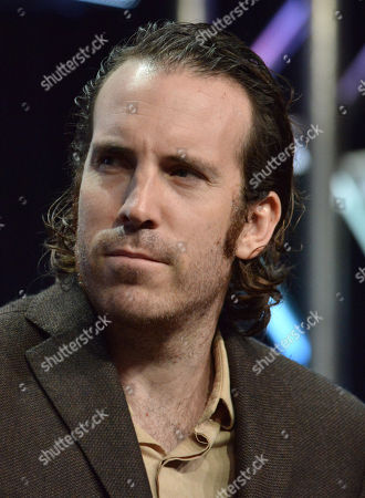 Thomas M. Wright speaks on stage during The Bridge panel at the The FX 2014 Summer TCA held at the Beverly Hilton Hotel, in Beverly Hills, Calif