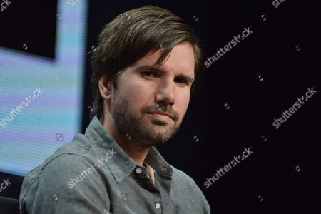 Jon Lajoie on stage during the The League panel at the The FX 2014 Summer TCA held at the Beverly Hilton Hotel, in Beverly Hills, Calif