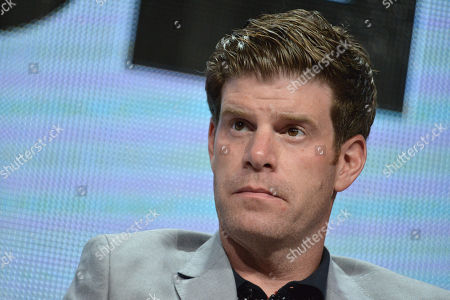 Stephen Rannazzisi on stage during the The League panel at the The FX 2014 Summer TCA held at the Beverly Hilton Hotel, in Beverly Hills, Calif