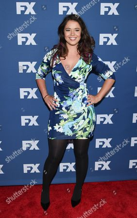 """Stock Image of Actress Kether Donahue attends FX Networks upfront premiere of """"The People v. O.J. Simpson: American Crime Story"""" at the AMC Empire 25, in New York"""