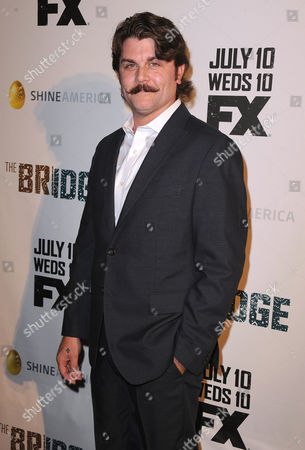 """Johnny Dowers seen at FX's """"The Bridge"""" Premiere, on in Los Angeles, CA"""