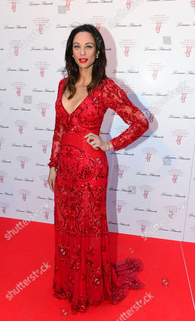 Lily Becker at Gabrielle's Angels Foundation UK Gala in London on Thursday, May 2nd, 2013