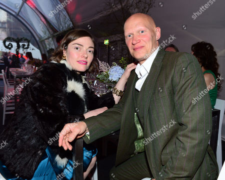 Camilla Rutherford and Duncan Goodhew at Gabrielle's Angels Foundation UK Gala in London on Thursday, May 2nd, 2013