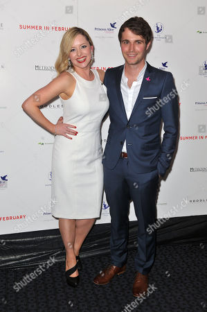 Mia Austen & Max Deacon at the London Gala Screening of Summer In February on at Curzon Mayfair, London, United Kingdom