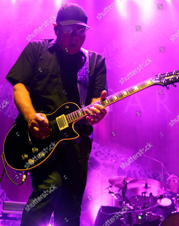 Steve Marker with Garbage performs at the Tabernacle, in Atlanta