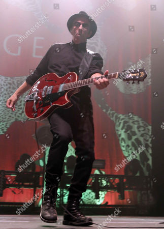 Duke Erikson with Garbage performs at the Tabernacle, in Atlanta