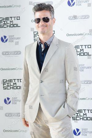 Evan Shapiro attends the Ghetto Film School 10th Annual Spring benefit at The Standard Biergarten on in New York