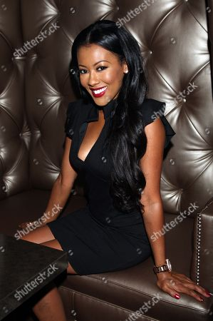 Cast member Denyce Lawton attends Girlfriend Confidential LA Premiere Episode Party at Xen Lounge, in Studio City, California