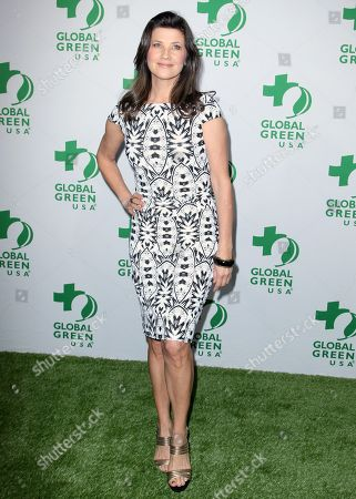 Daphne Zuniga arrives at the Global Green USA's 12th Annual Pre-Oscar Party at the Avalon Hollywood, in Los Angeles