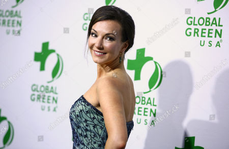 Stock Photo of Cooper Harris arrives at the Global Green USA's 12th Annual Pre-Oscar Party at the Avalon Hollywood, in Los Angeles