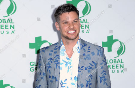 Theo Von arrives at the Global Green USA's 12th Annual Pre-Oscar Party at the Avalon Hollywood, in Los Angeles