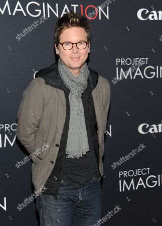 """Twitter co-founder Biz Stone attends the global premiere of Canon's """"Project Imaginat10n"""" Film Festival at Alice Tully Hall on in New York"""