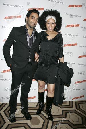 Manu Narayan and Tamara Tunie