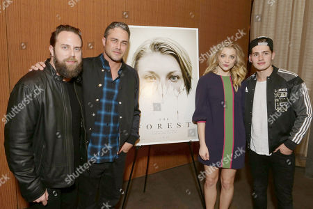 Exclusive - Director Jason Zada, Taylor Kinney, Natalie Dormer and Gregg Sulkin seen at Gramercy Pictures Special screening of 'The Forest', in West Hollywood, CA