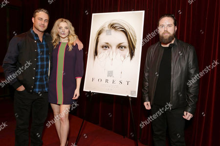 Taylor Kinney, Natalie Dormer and Director Jason Zada seen at Gramercy Pictures Special screening of 'The Forest', in West Hollywood, CA