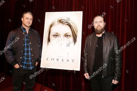 Exclusive - Taylor Kinney and Director Jason Zada seen at Gramercy Pictures Special screening of 'The Forest', in West Hollywood, CA
