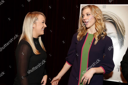 Exclusive - Meghan McCarthy and Natalie Dormer seen at Gramercy Pictures Special screening of 'The Forest', in West Hollywood, CA