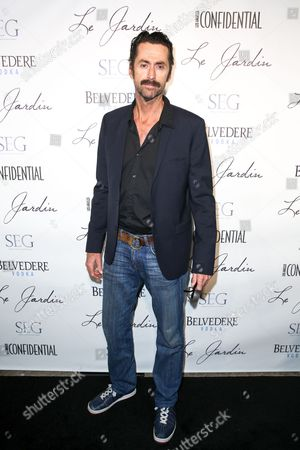 Stock Image of Kirk Fox arrives at the Grand Opening Of Le Jardin, in Los Angeles