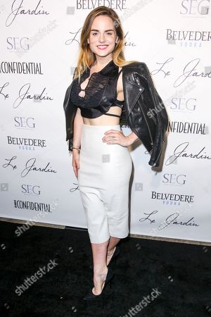 JoJo arrives at the Grand Opening Of Le Jardin, in Los Angeles