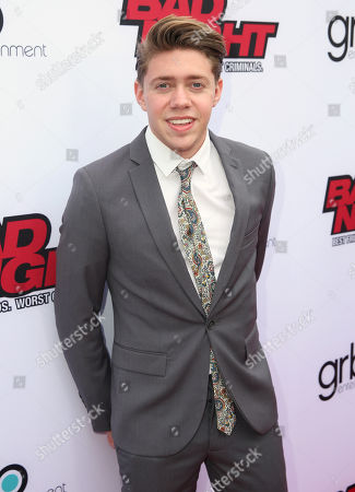 "Jonah Green attends GRB Entertainment's ""Bad Night"" premiere, in Los Angeles"