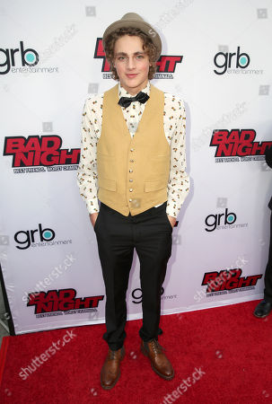 """Steffan Argus attends GRB Entertainment's """"Bad Night"""" premiere, in Los Angeles"""