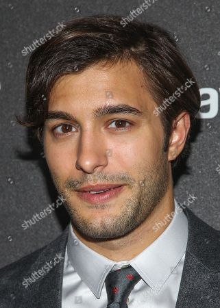 Actor Alexander Koch arrives at the Hollywood Foreign Press Association's celebration of the 2014 Golden Globe Award Season at the Fig & Olive on in West Hollywood, Calif