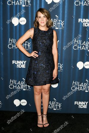 Jen Zaborowski attends Hilarity for Charity's Annual Variety Show: James Franco's Bar Mitzvah held at The Hollywood Palladium, in Los Angeles