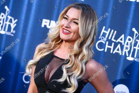 Mara Marini attends Hilarity for Charity's Annual Variety Show: James Franco's Bar Mitzvah held at The Hollywood Palladium, in Los Angeles