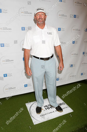 Bret Saberhagen attends the Hilton HHonors Charitable Golf Series Finale Event, on at the Riviera Country Club in Pacific Palisades, Calif