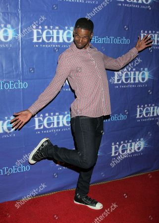 """Stock Picture of Gregg Wayans seen at Holly Robinson Peete's Screening of Relativity's """"Earth To Echo"""" Benefiting the HollyRod Foundation at Pacific Theatres at the Grove, in Los Angeles, California"""