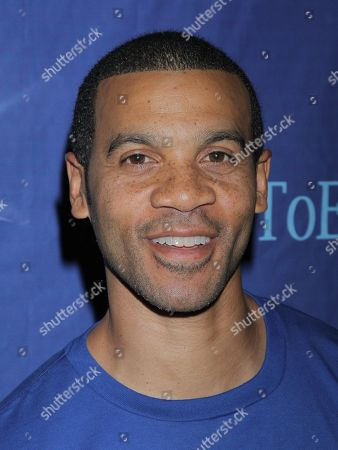 "Aaron D. Spears seen at Holly Robinson Peete's Screening of Relativity's ""Earth To Echo"" Benefiting the HollyRod Foundation at Pacific Theatres at the Grove, in Los Angeles, California"
