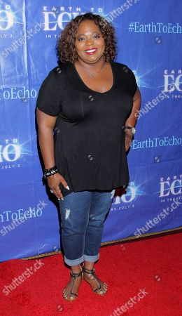 """Editorial picture of Holly Robinson Peete's Screening of Relativity's """"Earth To Echo"""" Benefiting the HollyRod Foundation, Los Angeles, USA - 16 Jun 2014"""