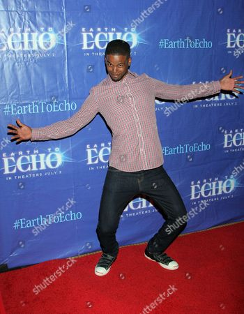 """Stock Photo of Gregg Wayans seen at Holly Robinson Peete's Screening of Relativity's """"Earth To Echo"""" Benefiting the HollyRod Foundation at Pacific Theatres at the Grove, in Los Angeles, California"""