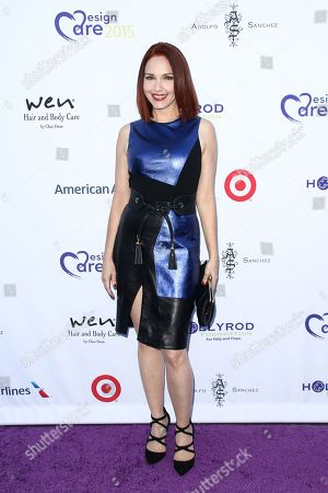 Amy Yasbeck attends HollyRod's 17th Annual DesignCare Gala held at The Lot Studios, in West Hollywood, Calif