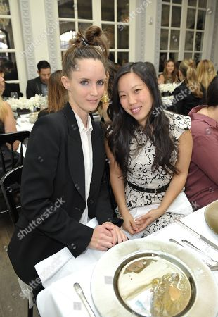 Stock Image of Morgan Marling and Jessica Kolstad attend The Hollywood Reporter: THR Power of Style Luncheon, in Beverly Hills, Calif