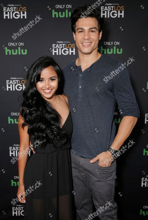 Cassandra Ventura and Ray Diaz attend Hulu's East Lost High Season 2 Premiere at Landmark Theater on Wednesday July, 9 2014, in Los Angeles